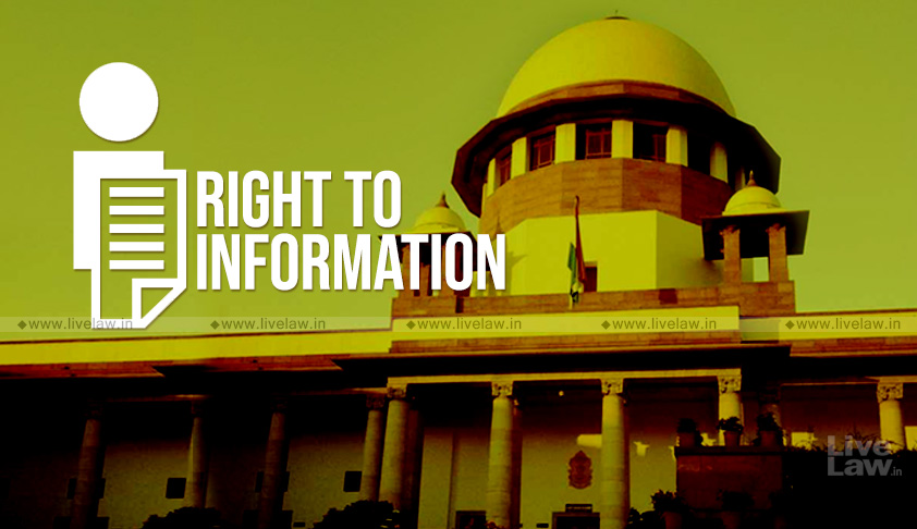 Cant Indicate The Time Schedule Of Appointment Of Information Commissioners At This Stage: Centre Tells SC [Read Counter Affidavit]
