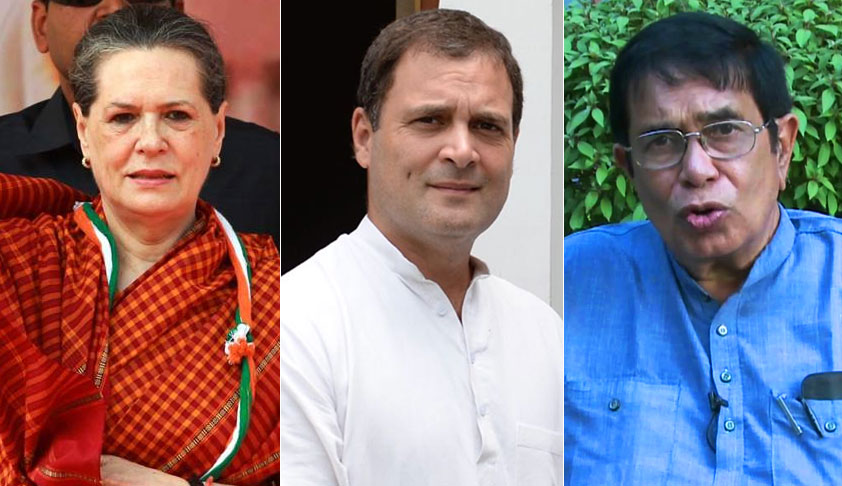 Delhi HC Rejects Pleas Of Sonia Gandhi, Rahul Gandhi, Oscar Fernandez Against I-T Reassessment Notices [Read Order]