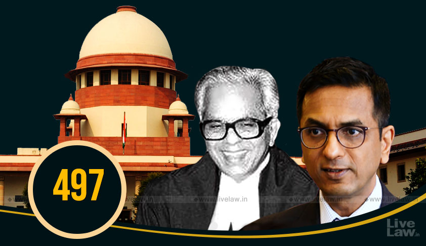 Justice Chandrachud Does It Again, Overrules His Father