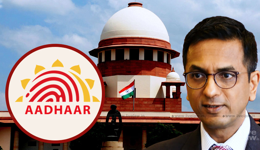 Breaking: Aadhaar Project Wholly Unconstitutional-Landmark Dissent By Justice Chandrachud [Read Judgment]