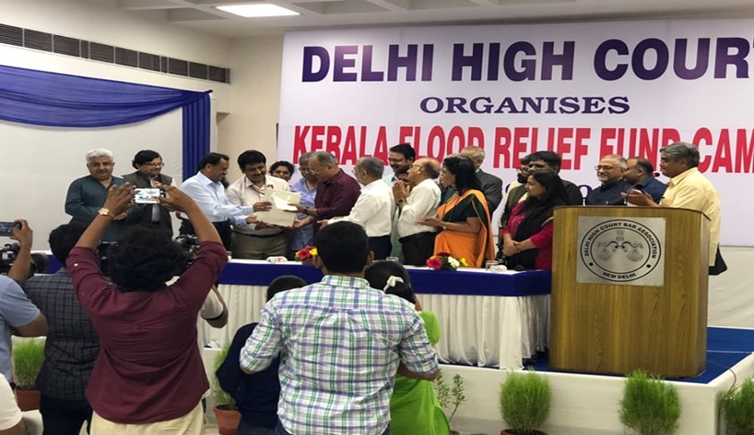 Delhi HC Contributes Half A Crore For Kerala Flood Relief