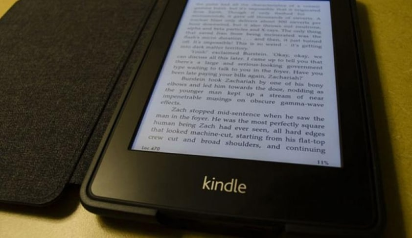 Kindle Book Reader Dictionary Exempted