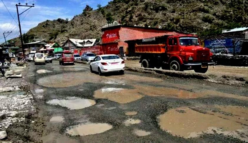 """Potholes Killing More Than Terrorism, It Is Frightening"" : SC"