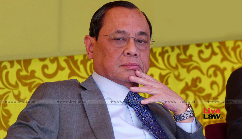 CJI Gogoi Approves Suspension Of Railway Claims Tribunal Judge RK Mittal For Alleged Involvement In Rs. 50 Crore Scam