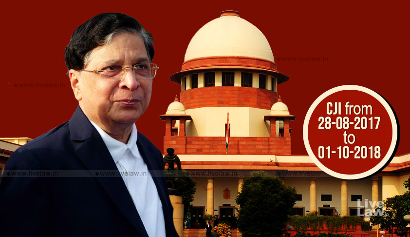 Will The Real CJI Dipak Misra Stand Up?How Will History Judge Him?
