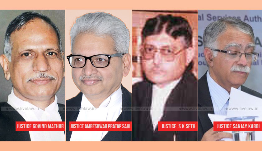 SC Collegium Recommends CJs For Allahabad, Patna, Tripura & Madhya Pradesh High Courts [Read Resolutions]