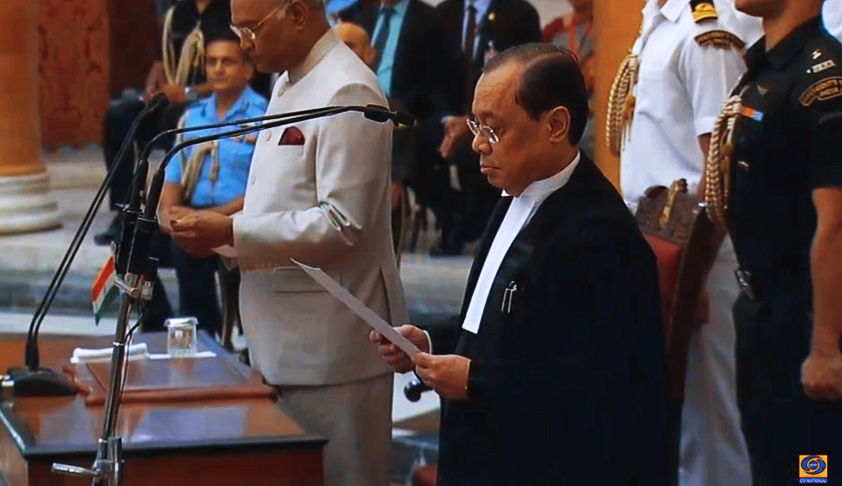 Breaking: Justice Ranjan Gogoi Sworn In As 46th Chief Justice Of India