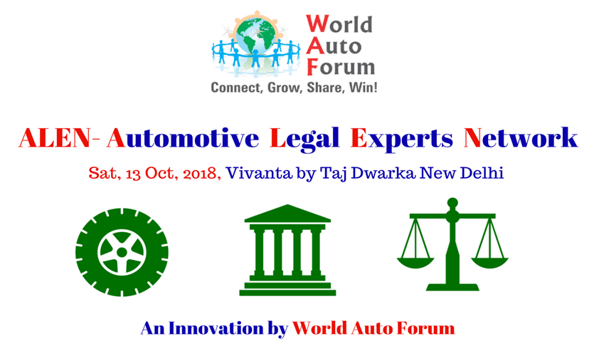 Conference On Automotive Legal Expert Network (ALEN) By World Auto Forum