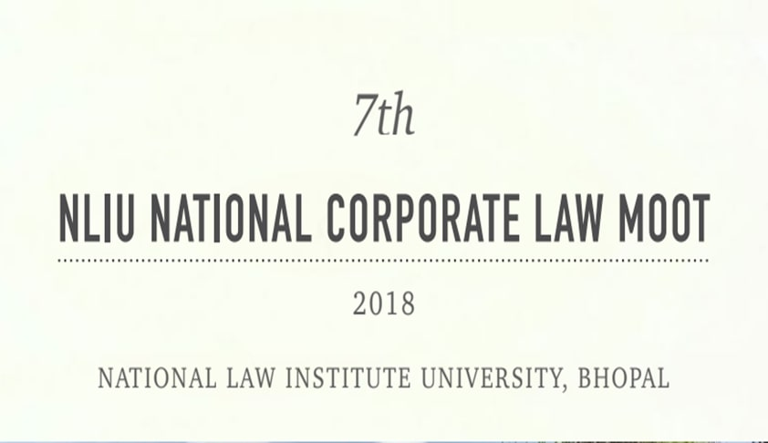 NLIU National Corporate Law Moot [7th-9th Dec]