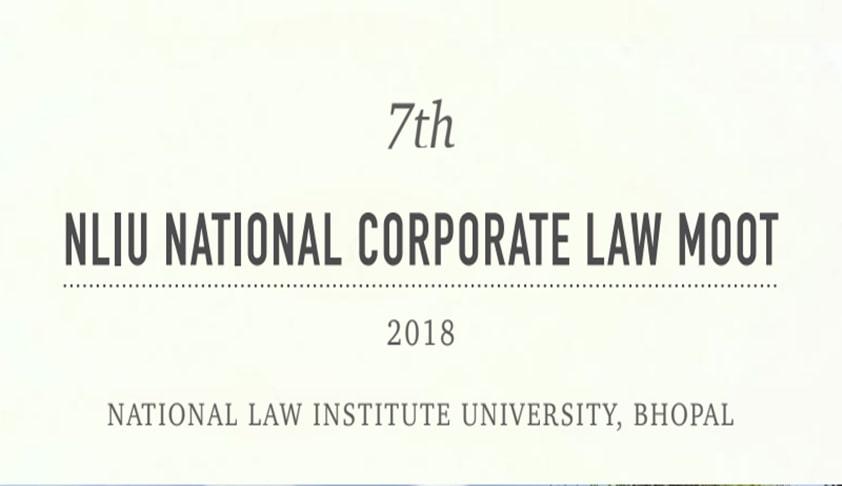 NLIU National Corporate Law Moot [7th-9th Dec]
