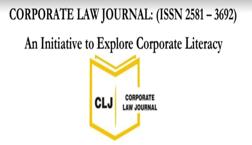 Call For Editors: Corporate Law Journal