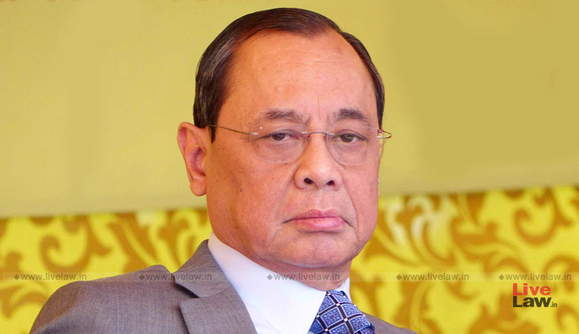 Thousand New Cases Filed In A Week, We Have Only 11 Benches, Give Us A Solution: Chief Justice Gogoi