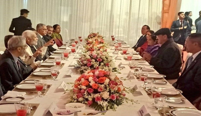 PM Modi, VP Naidu Attend Dinner Hosted By CJI On Constitution Day Eve