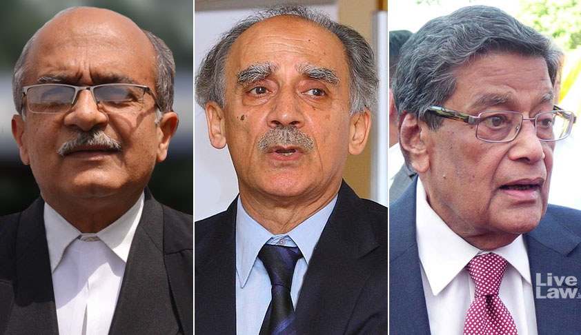 [Rafale] [Session 1] : SC Agrees Not To Examine Pricing Details Of The Deal Now [Read Prashant Bhushan