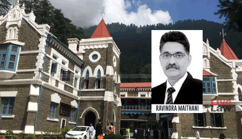 SC Collegium Recommends Three Judicial Officers Including SC Secretary General Ravindra Maithani As Uttarakhand HC Judges