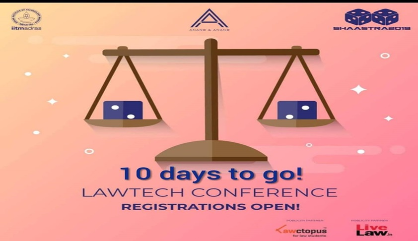 Shaastra & Anand & Anand's LawTech Conference [4th Jan; IIT Madras]