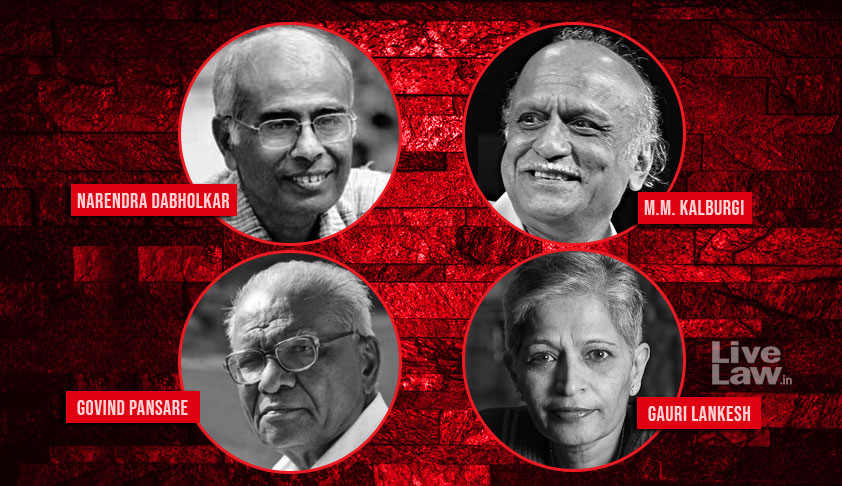 One Agency Can Investigate Dabholkar,Pansare, Kalburgi & Gauri Lankesh Murder Cases If There Is A Common Link, Observes SC