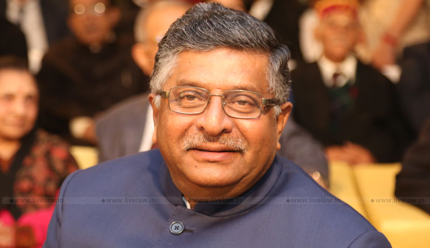 Union Law Minister Ravi Shankar Prasad Advocates For SC/ST Quota In Judiciary