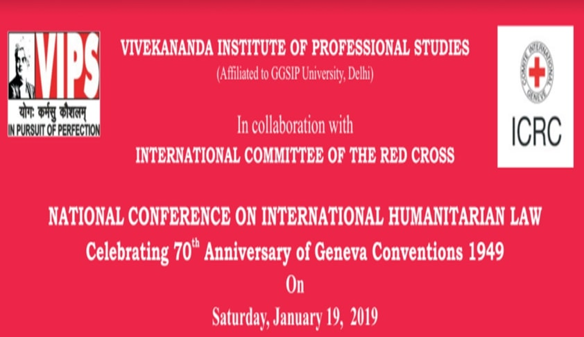 Call For Papers: VIPS' National Conference On International Humanitarian Law [Jan 19; New Delhi]