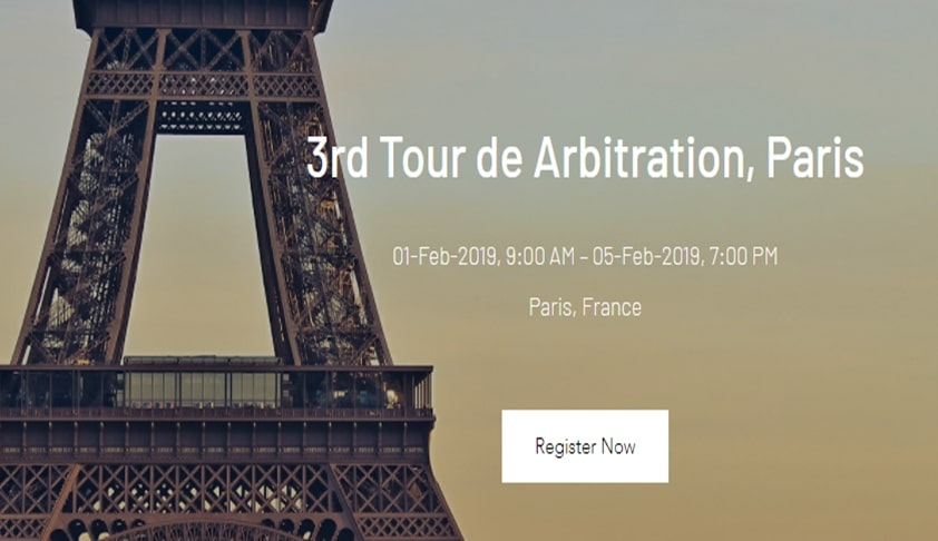 DSNLU & CARDS' Tour De Arbitration, Paris [1st-5th Feb]
