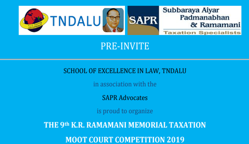 K.R. Ramamani Taxation Moot Court Competition, 2019