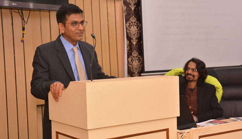 IDIA Captures The Constitutional Spirit Of Social Progress: Justice DY Chandrachud