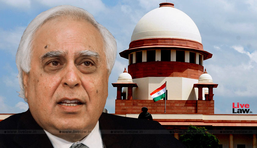 When A CM Seeks Vote Of Confidence, Whip Is Not Required, Kapil Sibal Tells SC