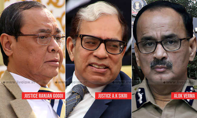 CJI Nominates Justice AK Sikri To The High Powered Committee Considering Allegations Against CBI Director Alok Verma