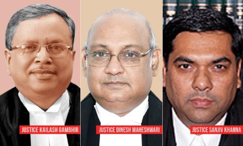"Prevent ""Another Black Day"": Ex-Delhi HC Judge Kailash Gambhir To President on Proposed Elevation of Khanna, Maheshwari JJ"