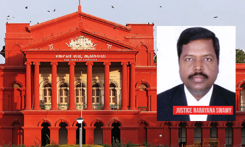 Justice L Narayana Swamy Appointed as Acting Chief Justice Of Karnataka HC