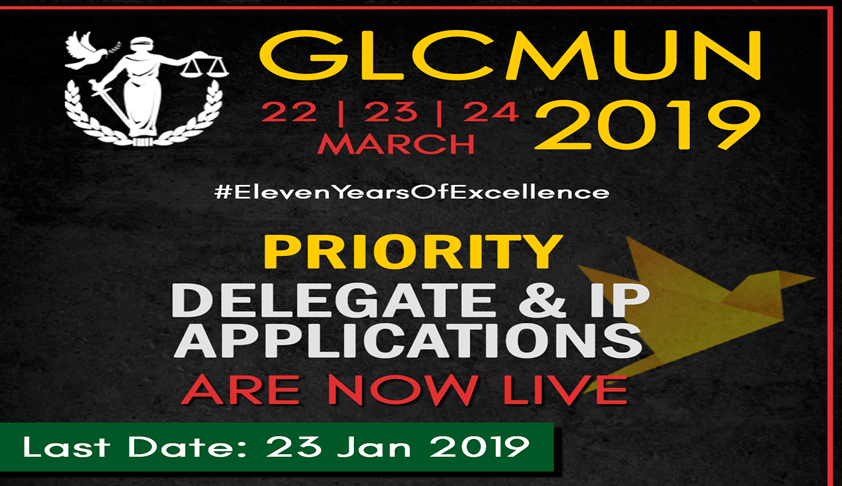 Call For Applications: Priority Round Of Delegate Applications For GLCMUN19