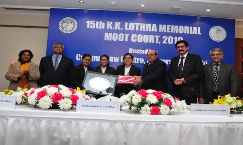 SLS Pune Wins 15th KK Luthra Memorial Moot