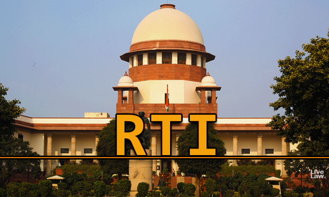 RTI Activists Move SC To Implement Directions On Appointment Of Information Commissioners [Read Application]