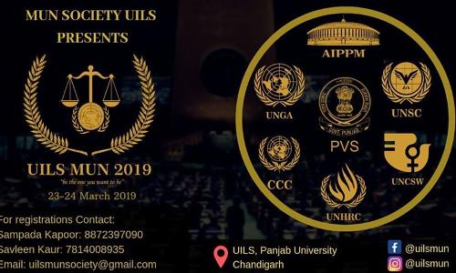 UILS To Host UILSMUN-19 [23-24 Mar; Chandigarh]
