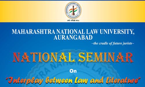 Call For Papers: MNLU Aurangabad