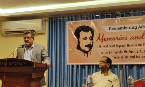 Justice Mustaque Delivers First Annual Lecture In Memory Of Late Advocate Jijo Paul