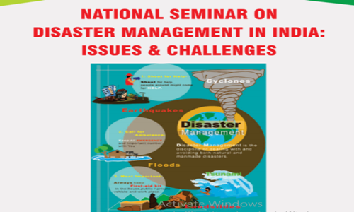 Call For Papers: Bharat Mata Schools National Seminar On Disaster Management [8 Mar; Aluva]