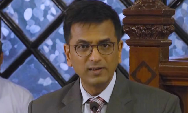 """The Framers of Constitution Rejected The Notion of a Hindu India And a Muslim India"":Justice Chandrachud [Read Full Text Of Speech]"