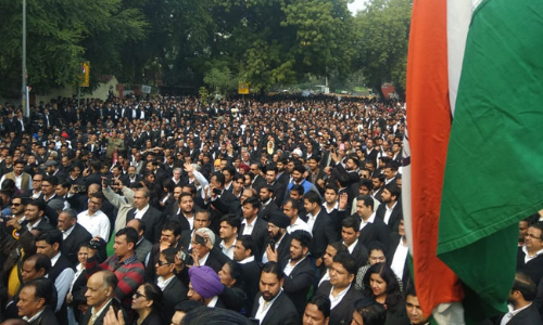"""Accept Our Genuine Demands"":Lawyers Across India Protest For Welfare Measures"