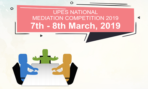 UPES National Mediation Competition [7th-8th Mar]