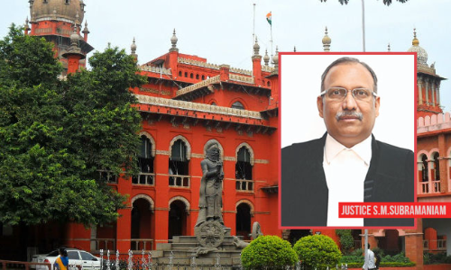 Madras HC Judge SM Subramaniam Directs Installation Of CCTV Cameras In His Chambers: Read On To Find Out Why