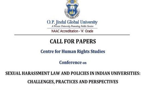 Call For Papers: Conference On Sexual Harassment Law & Policies In Indian Universities