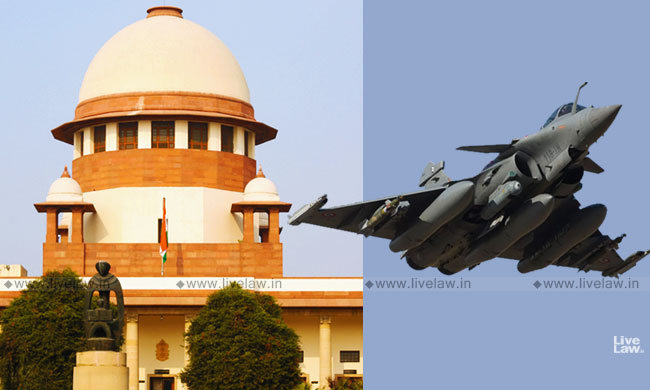 Breaking: SC Allows Open Hearing Of Rafale Review Petitions [Read Order]
