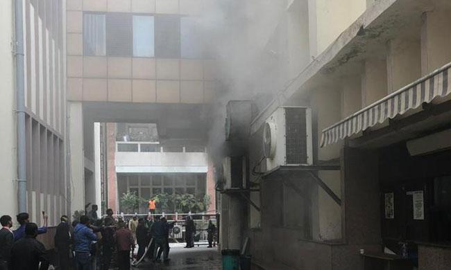 Fire In Delhi HC, None Injured