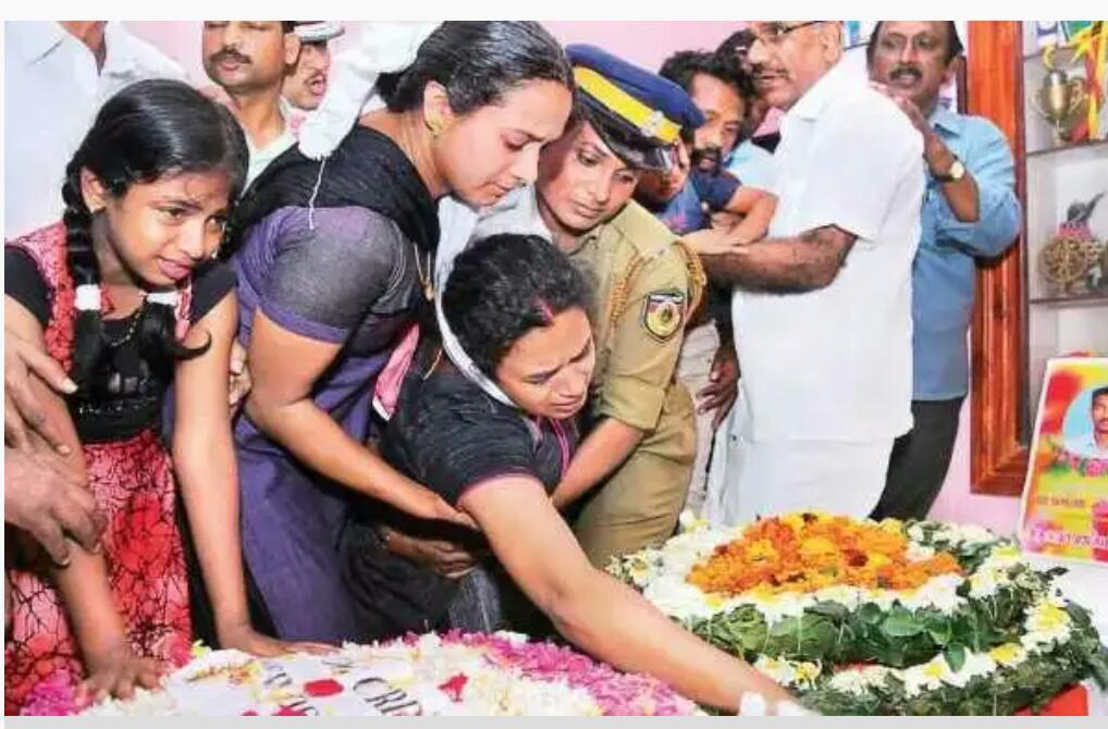 Pulwama: Sr. Adv. George Poonthottam Offers To Bear Educational Expenses Of Children Of CRPF Martyr From Kerala