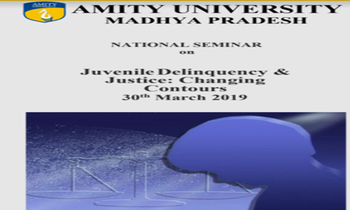 Call For Paper: Seminar On Juvenile Delinquency And Justice