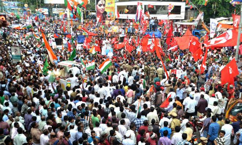 PIL In SC Seeks Ban On Roadshows, Bike Rallies During Election Campaigning