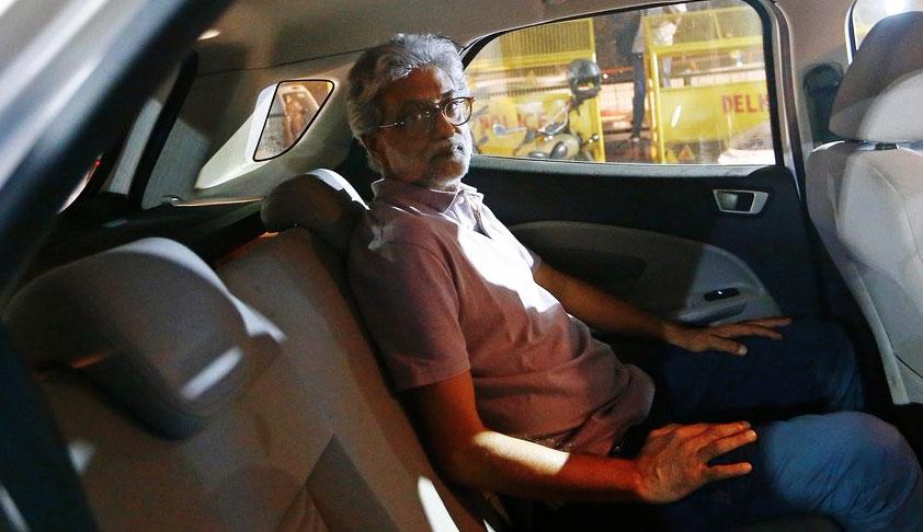 Bhima Koregaon: Supreme Court Issues Notice On Gautam Navlakhas Plea Against Bombay High Court Judgment Denying Him Default Bail