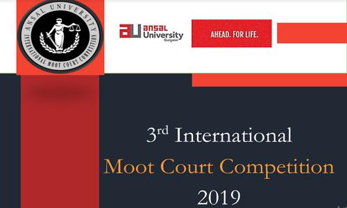 3rd Ansal University International Moot Court At Ansal University, Gurugram