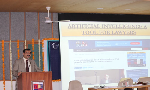 ILNU Conducts ICJE Conference on Artificial Intelligence